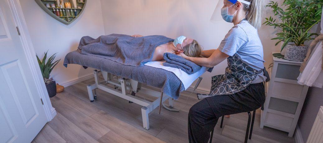 Face, Jaw, Neck & Head Massage